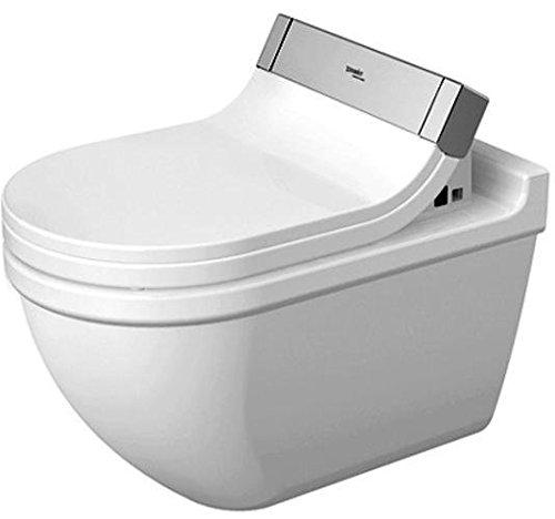 Duravit Wand WC (ohne Deckel) Starck 3 620 mm, Tiefspüler für SensoWash mit verdeckten Anschlüßen, w