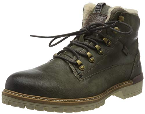 MUSTANG Herren 4142-603-77 Klassische Stiefel, Grün (Oliv 77), 42 EU