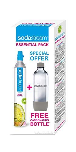 SodaStream Essential Bottiglia di carbonatazione + caricatore di carbonatazione
