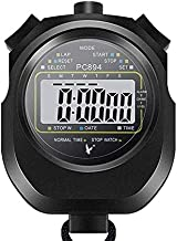 Sponsored Ad - LEAP Stopwatch Professional Timer 3 RAW 10/30/100 Lap Split Memory with Digital Extra Large Screen for Stop...