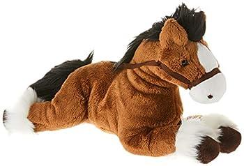 GUND Fanning Palomino Horse Laying Down Stuffed Animal Plush Brown 12
