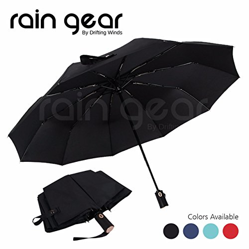 Big Save! Rain Gear: Premium Quality Umbrella Windproof, Small, Light n Compact Umbrella, Easy Foldi...