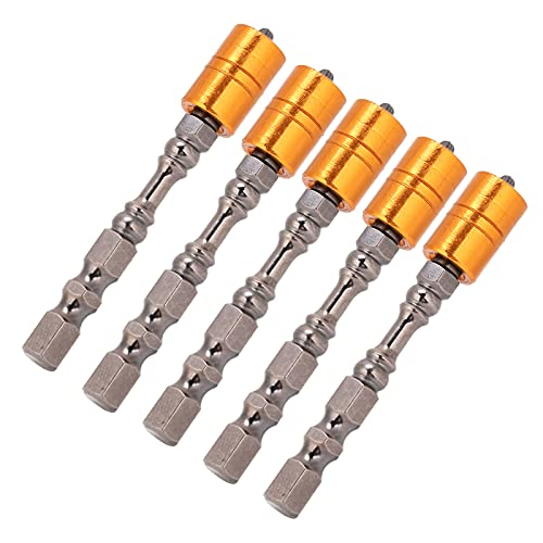 Juego de Brocas para Destornillador, Broca de Destornillador de 65 mm, tamaño preciso, 5 Piezas, Herramienta de sujeción de Tornillos para maquinaria de ingeniería, Mantenimiento de