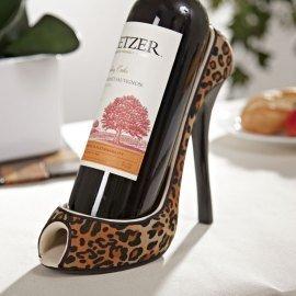 Wild Eye High Heel Bottle Holder, Leopard by Wild Eye