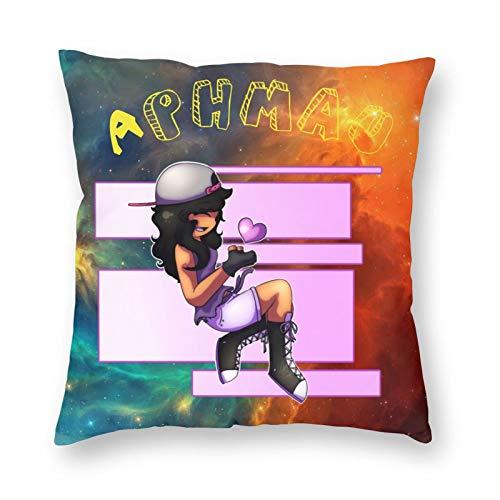 Aphmau-Gaming Kinder werfen Kissenbezüge Geschenke für Sofa Schlafzimmer Auto Home Decorations Quadratische Kissenbezug-Sets 20' X20