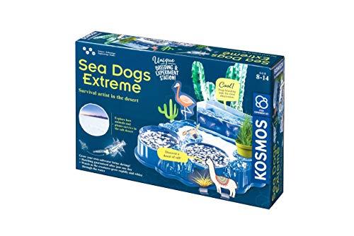 Thames and Kosmos 510187| Sea Dogs Extreme| Estación de cría y experimentos| Cultiva tu Propio Cangrejo de Agua Salada | Descubrimiento de la Naturaleza| Edades 8-14 años