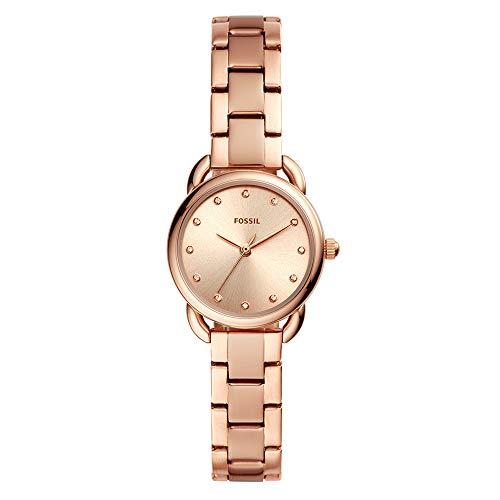 Reloj Fossil Tailor Mini para Mujer, pulsera de Acero Inoxidable