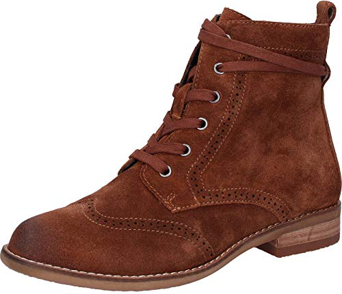 Be Natural 8-8-25200-21 Damen Stiefelette Cognac, EU 40