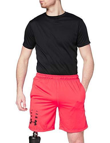 Under Armour UA Raid 8 - Pantalón corto para hombre, Hombre, 1328497-890, Radio Red/Black, Medium
