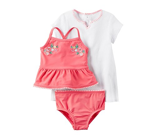Carter's Baby Girls' 3 Piece Tankini Set 18 Months