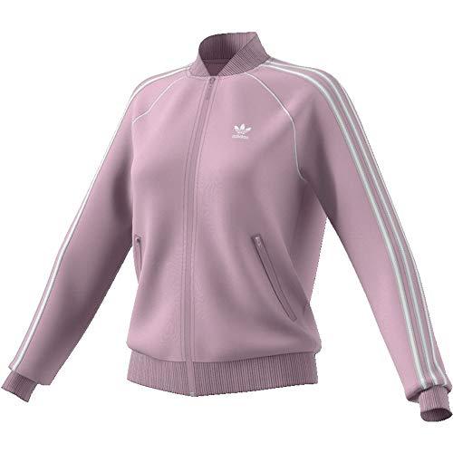 Adidas Sweatjacke Damen SST TT ED7591 Lila, Size:40