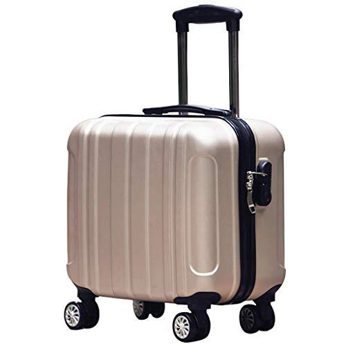 Mjd koffertrolley 360° draaibaar lichtgewicht ABS Hard case koffer 18