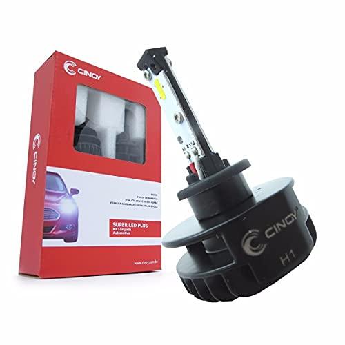 Lâmpada Super Led Plus Efeito Xenon H1 12/24v 16w 2200 Lumens 6000k Cinoy