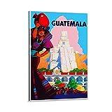 Guatemala-Kunst-Poster auf Leinwand, Wandkunst, Kunstdruck,