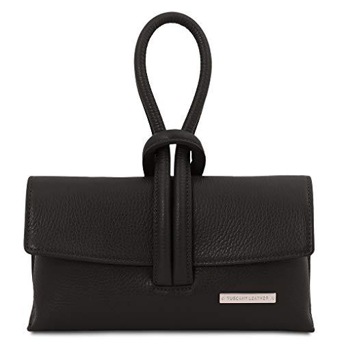 Tuscany Leather TL Bag Pochette in pelle - TL141990 (Nero)