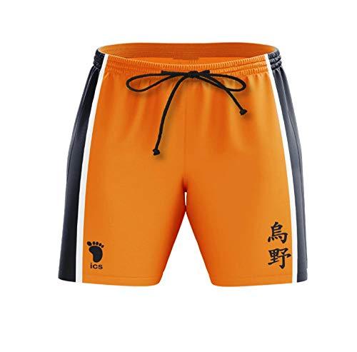 Anime Colleges Printed 3D Bleach Shorts Cosplay Hombres Natación Troncos de Secado rápido Casual Short Running Gym Shorts-A5_Metro
