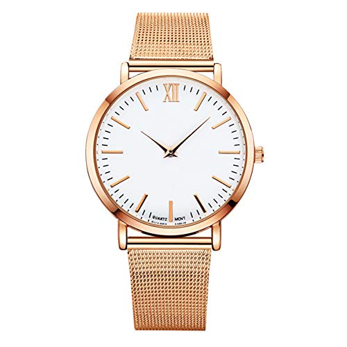 iceBoo Fashion Lady Watch Mesh Female Quartz Flower Watch Lucky Lady Magnet Clock