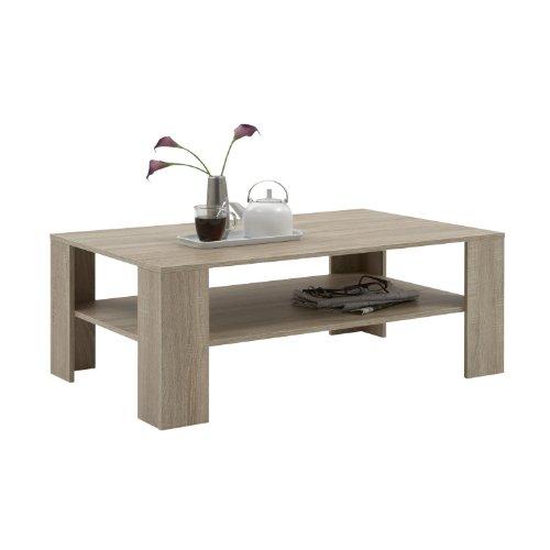 FMD Möbel 520-006 - Tavolino da Salotto Tavola, Quercia, 110 x 42 x 70 cm