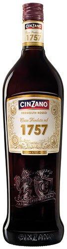 2x Cinzano - 1757 Vermouth Rosso, 1000ml