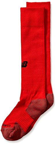 New Balance Kinder All Sport OTC Socken (1 Paar), Jungen Mädchen, rot, Large