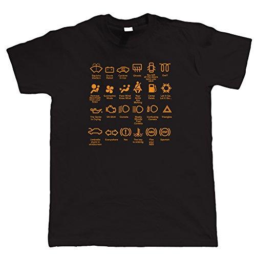 CICLISMO TEE sono caduta dalla bici Top Divertente Compleanno T-shirt Tshirt Maglietta T-shirt