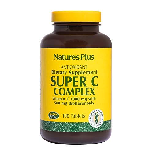 Natures Plus Super C Complex (1 g Vitamin C) 180 Tabletten (372,5g)