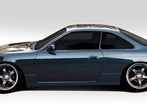 Extreme Dimensions Duraflex Replacement for 1995-1998 Nissan 240SX S14 N Sport Side Skirt Rocker Panels - 2 Piece