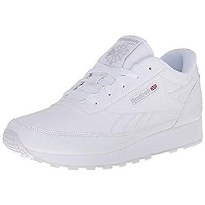 Reebok Women's Classic Renaissance Sneaker, White/Steel, 8
