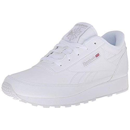 Reebok womens Classic Renaissance Sneaker, White/Steel, 8.5 US