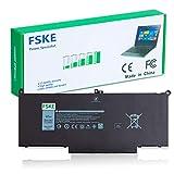 FSKE F3YGT Batería para portátil para portátil DELL Latitude E7480 E7280 0F3YGT DM3WC DM6WC 0DM3WC 2X39G KG7VF V4940 451-BBYE 12 7000 7280 7290 Latitude 7380 7390 7480 7490