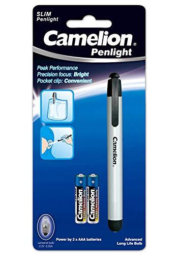 Camelion 30000017 LED Penlight Stiftleuchte im Aluminiumgehäuse