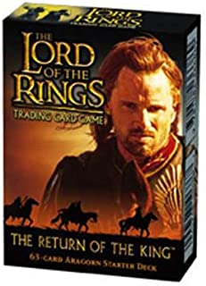 Lord Of The Rings Tcg - The Return Of The King Starter Deck Aragorn - 63C