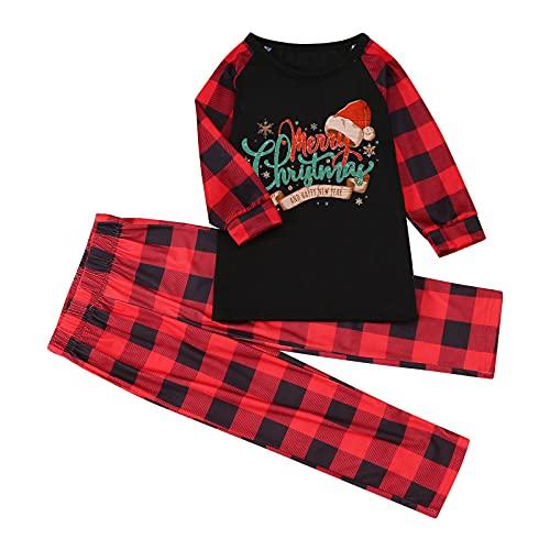 Hengyouhui Weihnachten Schlafanzüge Damen Bademäntel Herren Schlafanzughosen Schlafanzugoberteile Kinder Schlafanzug