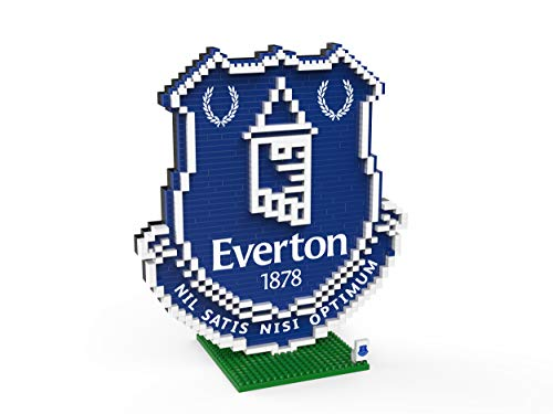 FOCO Football Club Crest BRXLZ Building Set 3D Construction Toy (Everton)