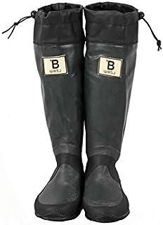 [日本野鳥の会] レインブーツ 梅雨 バードウォッチング 長靴 折りたたみ 新色! bw-47927