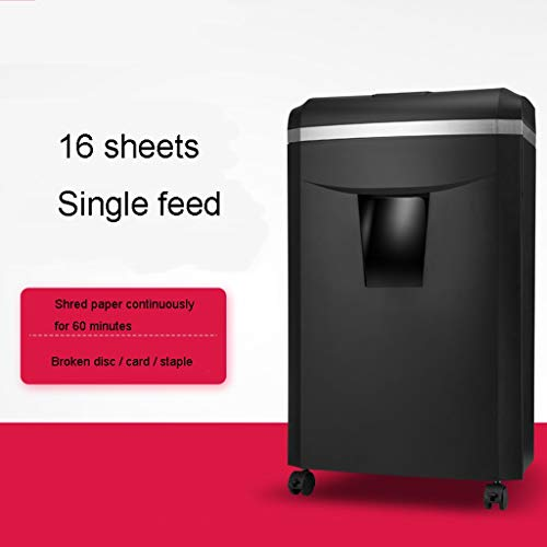 Affordable TUCY Multifunctional Paper Shredder, 16 Shreed Card Disc Staples Home A4 Document Shredde...