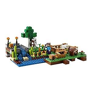 Amazon.co.jp - レゴ マインクラフト 農場 21114