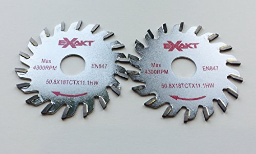 TCT 18 Sägeblatt 18 für Exakt Mini Handkreissäge für Feinschnitt aller Holzarten Sägeblatt TCT 18 (für Exakt Mini-Handkreissäge EC-310 - EC320) (2)