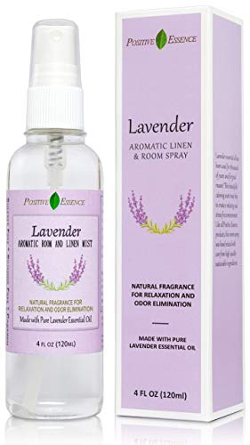 Lavender Linen and Room Spray, Pure Lavender Essential Oil Pillow Spray, Fabric Spray, Natural Aromatherapy Sleep Spray and Bathroom Spray no Diffuser Needed
