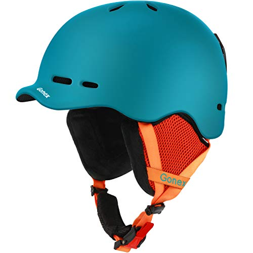 Gonex Ski Helmet, Snow Snowboard Helmet with Detachable Inner Padding,...