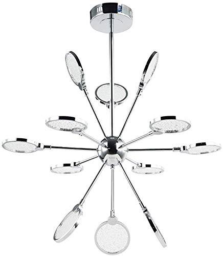 12 lampen hanglampen, 12 armen LED kroonluchter inbouw plafondlamp voor slaapkamer badkamer woonkamer restaurant bar keuken