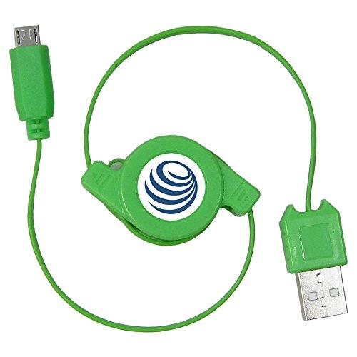 Ausziehbares Micro USB 2.0 Kabel Rollkabel Kabelrolle Ladekabel Datenkabel für Datenübertragung für LG Bello II 2 G Pro 3 G4 Stylus G4c G4s Optimus G3 Wine Smart MobiWire Dyami Pegasus Taima Winona Motorola Moto G 2 3 X Play X Style