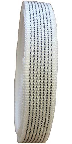 Schellenberg 36112 color rayas grises y blancas, 22 mm x 6 m