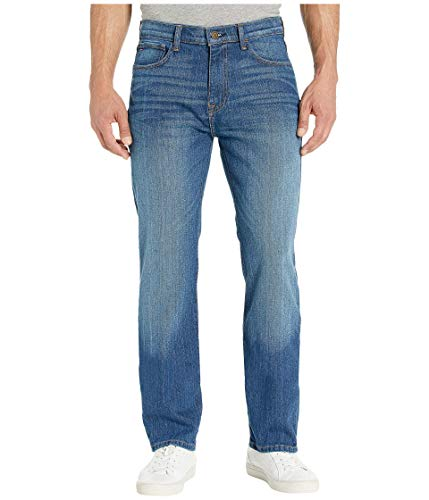 Tommy Hilfiger Men's THD Relaxed Fit Jeans, Medium Wash, 30Wx32L