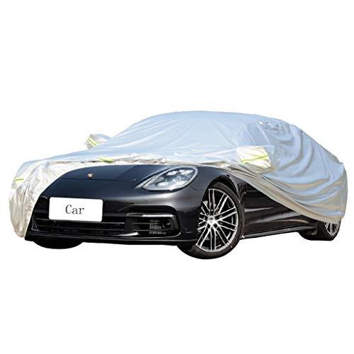 Couverture de voiture Compatible avec Porsche Panamera Car Cover Car Spécial Housse De Protection Épaisse Oxford Tissu Vent Et La Pluie Et Anti-Rayures Chaud Vêtements De Voiture