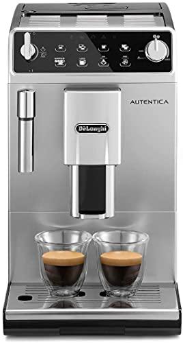 De'Longhi Autentica Perfetto ETAM29.510.SB Macchina da Caffè Automatica per Espresso e Cappuccino, 13 livelli di macinatura, Caffè in Grani o in Polvere, 1450 W,...