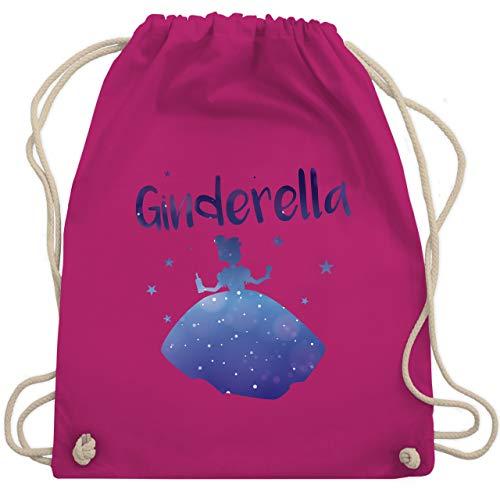 Shirtracer Typisch Frauen - Ginderella - Unisize - Fuchsia - ginderella turnbeutel - WM110 - Turnbeutel und Stoffbeutel aus Baumwolle