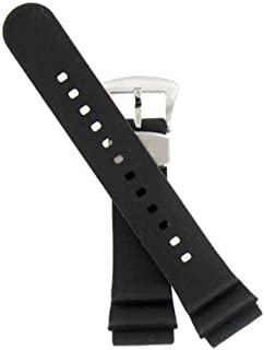 Compatible 22mm Rubber Silicone Dive Watch Band Strap Fits Seiko Model Series SRP773 SRP775 SRP777 SRP779