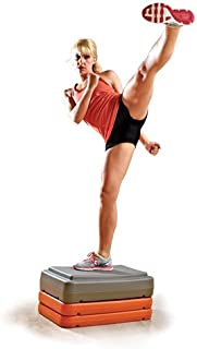 Champion Barbell Fitness Step, Orange, 4-Inch