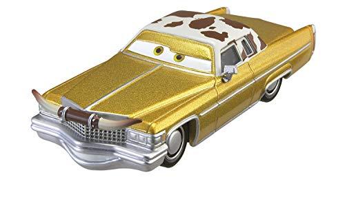Mattel Disney Cars FJH97 Disney Cars 3 Die-Cast Tex Dinoco Fahrzeug